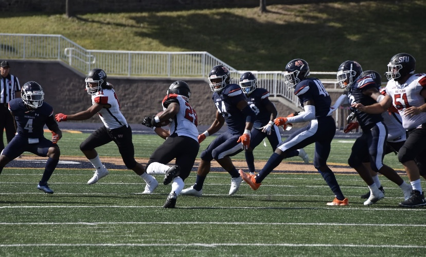 The Morgan State Bears are set to face the North Carolina Central Eagles at 1 p.m. this Saturday in Hughes Stadium.