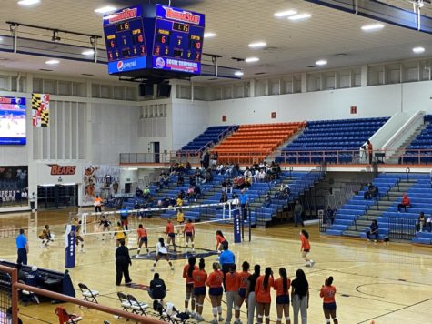 Morgan was defeated 25-22 in their first set, 25-19 in their second set, and 27-25 in their final one.