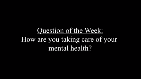 In honor of National Mental Health Awareness Week, the Spokesmans #QOTW is: How are you taking care of your mental health?